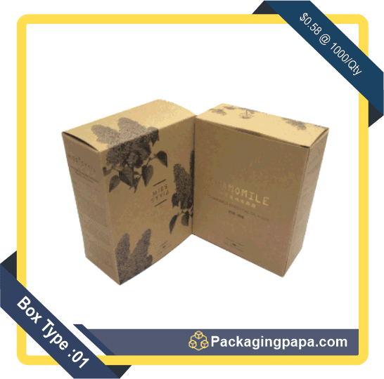 Anti-ageing Mask Packaging Boxes 1