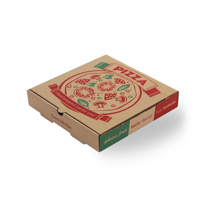 Custom Cardboard Pizza Packaging Boxes 1
