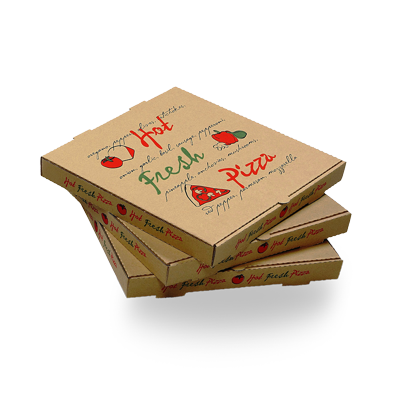 Custom Cardboard Pizza Packaging Boxes 4