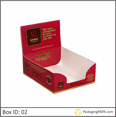 Counter Display Packaging Box