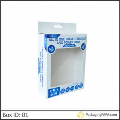 Custom Accessories Window Packaging Boxes