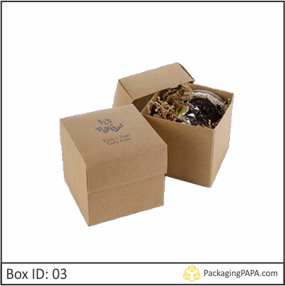Custom Bakery Kraft Boxes