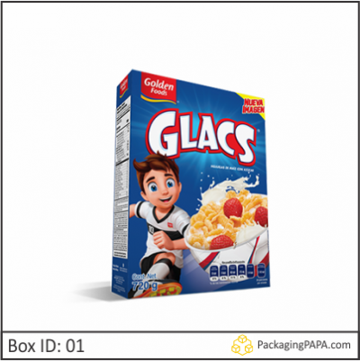 Custom Breakfast Cereal Packaging Boxes