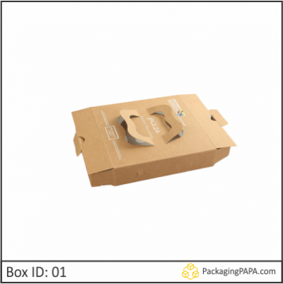 Custom Brown Pizza Boxes 01