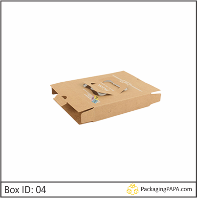Custom Brown Pizza Boxes 04