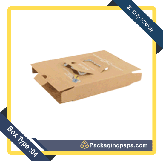 Custom Brown Pizza Boxes 4