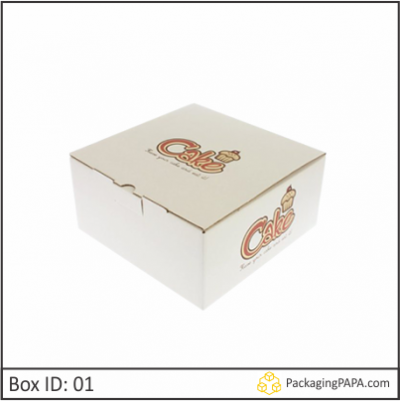Custom Cake Boxes Wholesale