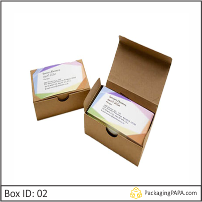 Custom Card Packaging Boxes