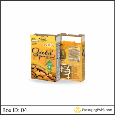 Custom Cereal Packaging Boxes 04