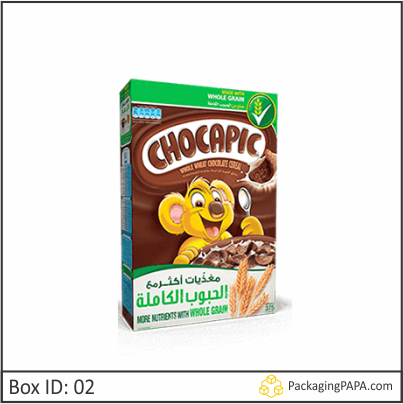 Custom Chocolate Cereal Boxes 02