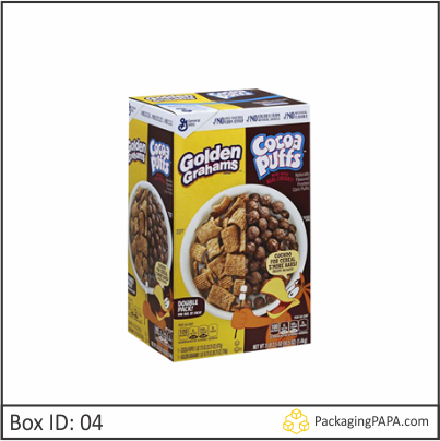 Custom Chocolate Cereal Boxes 04