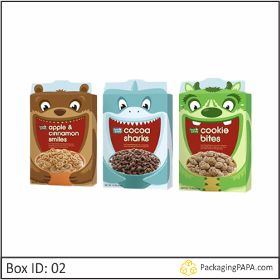 Custom Colorful Cereal Boxes 02