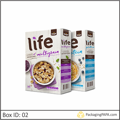 Custom Corn Flakes Cereal Boxes 02
