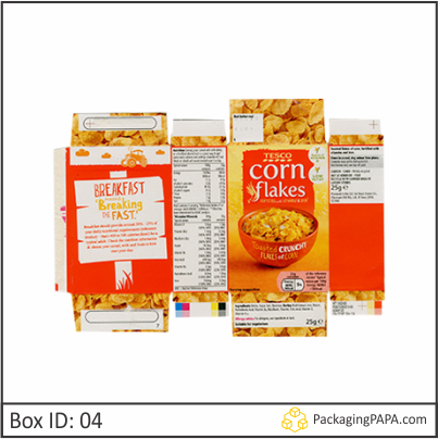 Custom Corn Flakes Cereal Boxes 04