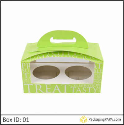 Custom Cupcake Boxes Wholesale 01