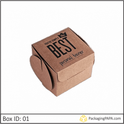 Custom Dessert Kraft Packaging Boxes 01