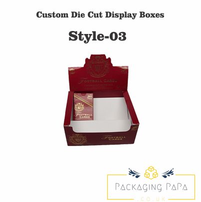 Custom Die Cut Display Box 03