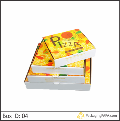 Custom Disposable Pizza Boxes 04