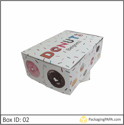 Custom Donut Packaging Boxes 02