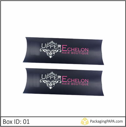 Custom Foldable Hair Extension Boxes 01