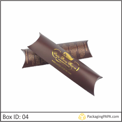 Custom Foldable Hair Extension Boxes 04