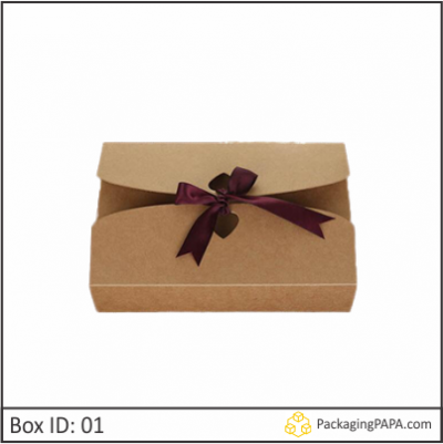 Custom Kraft Gift Packaging Boxes 01