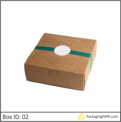 Custom Kraft Gift Packaging Boxes 02