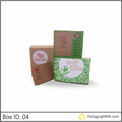 Custom Kraft Gift Packaging Boxes 04