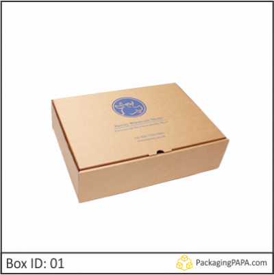 Custom Logo Mailing Corrugated Boxes 01