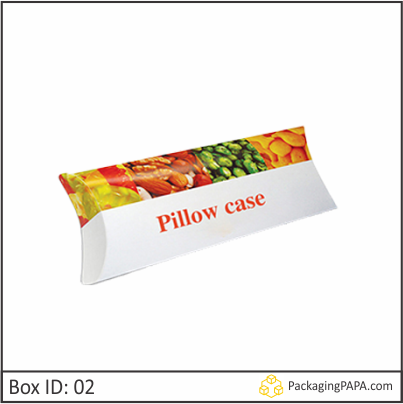 Custom Logo Pillow Boxes 02