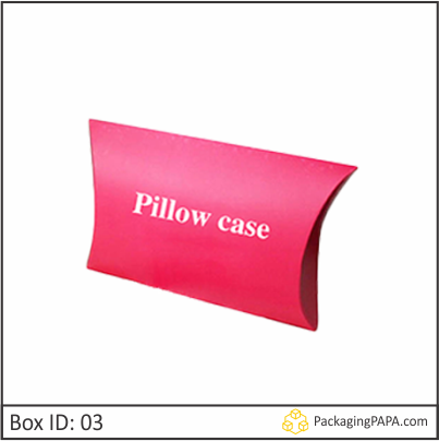 Custom Logo Pillow Boxes 03