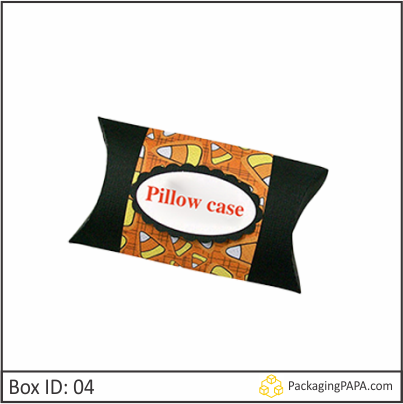 Custom Logo Pillow Boxes 04