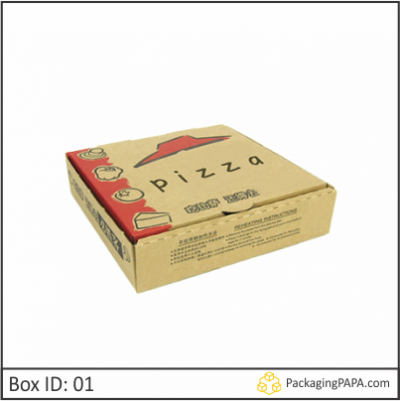 Custom Logo Printed Pizza Boxes 01