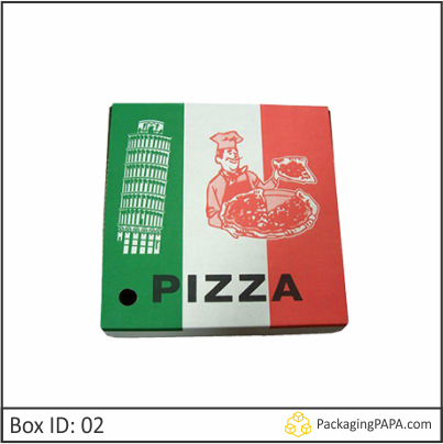 Custom Logo Printed Pizza Boxes 02