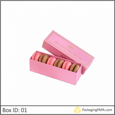Custom Macaron Packaging Boxes 01