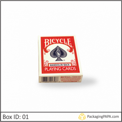 Custom Playing Card Packaging Boxes 01