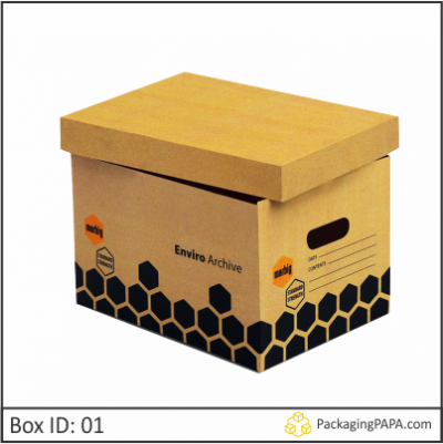 Custom Printed Archive Boxes 01