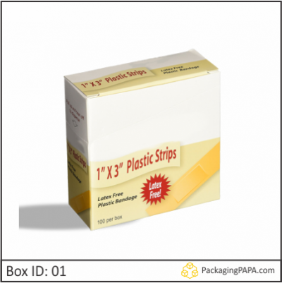 Custom Printed Bandage Packaging Boxes 01