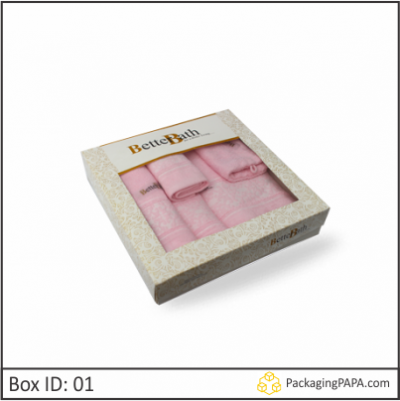 Custom Printed Bath Set Packaging Boxes 01