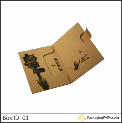 Custom Printed CD Storage Packaging Boxes 01