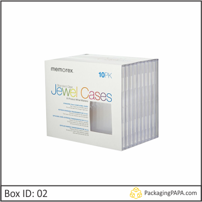 Custom Printed CD Storage Packaging Boxes 02