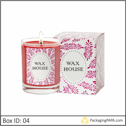 Custom Printed Candle Packaging Boxes 04
