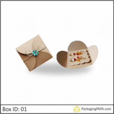 Custom Printed Earring Packaging Boxes 01