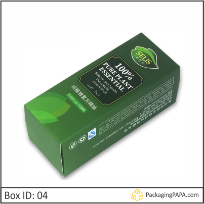 Custom Printed Essential Oil Packaging Boxes 04