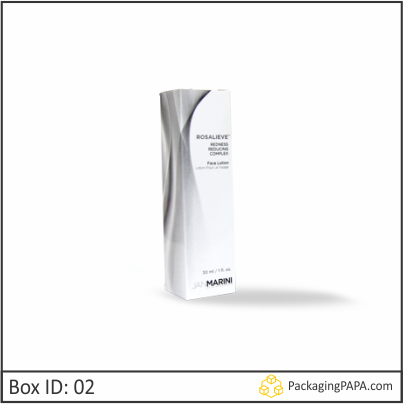 Custom Printed Glossy Lotion Packaging Boxes 02