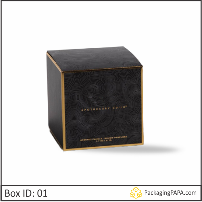 Custom Printed Jar Candle Packaging Boxes 01
