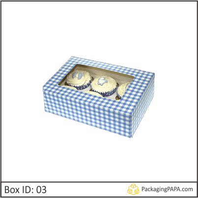 Custom Printed Muffin Packaging Boxes 03