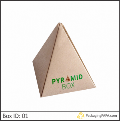 Custom Printed Pyramid Packaging Boxes 01