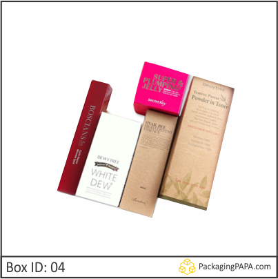 Custom Printed Skin Care Beauty Packaging Boxes 04