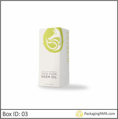 Custom Printed Skin Care Oil Packaging Boxes 03